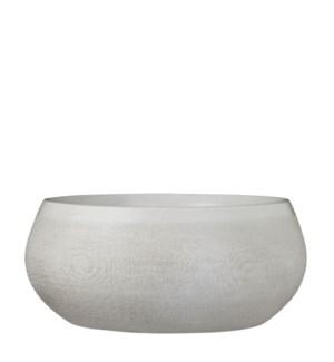 Douro bowl round off white - h14xd34cm
