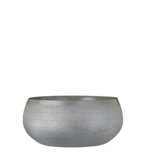 Douro bowl round l. grey - h12xd26cm