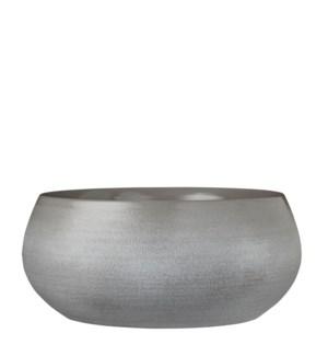 Douro bowl round l. grey - h14xd34cm