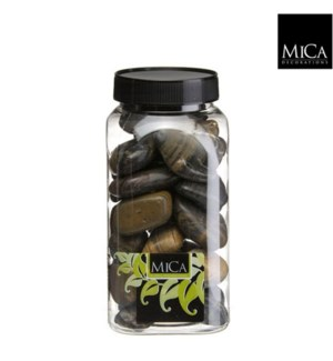 Mica Stones 1KG  Brown
