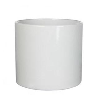 """Era Pot 11x10.25"""" White"""