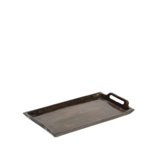 "Veneto Tray 10.25x5.5"" Dark Gold"