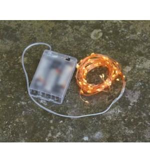 "Indoor LED Bundle B/O 31.5"" 64L Copper"
