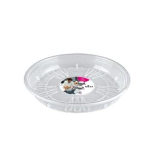 uni-saucer round 33cm transparent