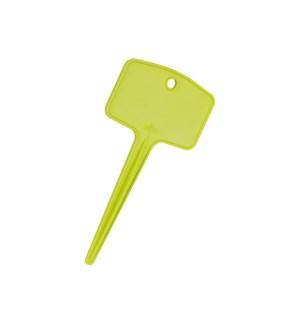 green basics plantlabels m (set/5) lime green
