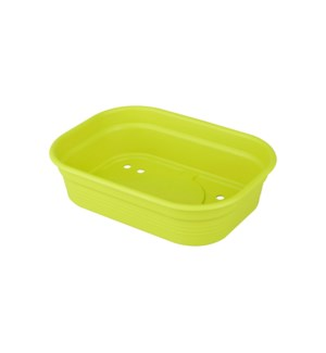 green basics grow tray s lime green