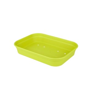 green basics grow tray m lime green