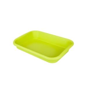 green basics garden tray lime green