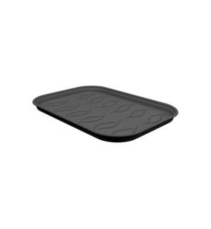 green basics grow tray saucer s living black
