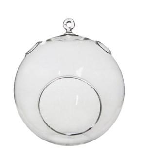 "Deco Glass Sphere 5.5x7"""