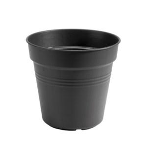 green basics growpot 19cm living black