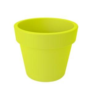 green basics top planter 30cm lime green