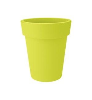 green basics top planter high 35cm lime green