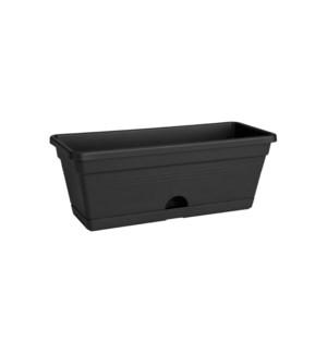 green basics trough mini 30cm living black