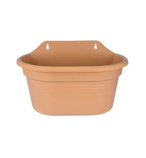 green basics wall basket 30cm mild terra