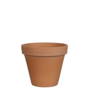 Stan pot round terra antique - h13,5xd15,5cm