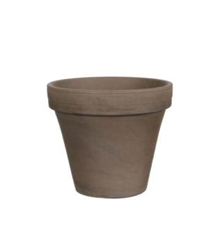 Stan pot round grey basalt - h17xd20cm