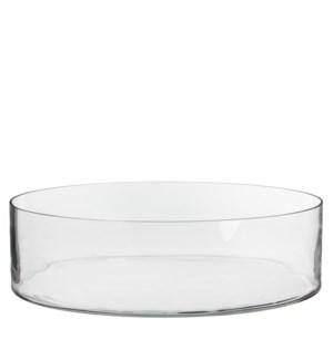 Dalio bowl round transparent - h11xd39cm