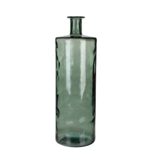 Guan bottle glass grey - h75xd25cm