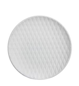 "Check Plate 15.5x1.5"" White"