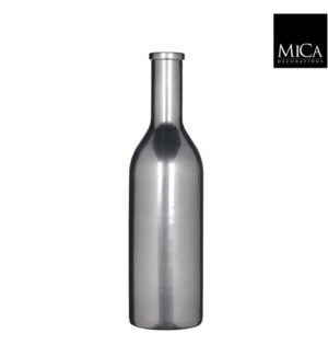 "Rioja Bottle 6x19.75"" Platinum"