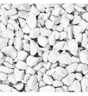 Rocks 9-13 mm 500 ml White