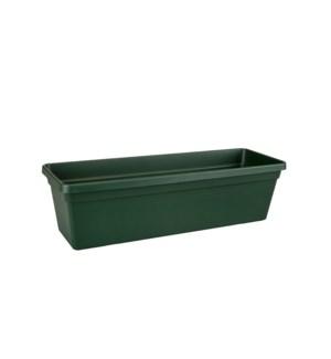 green basics trough 80cm leaf green