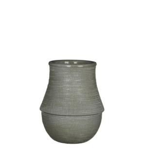 "Roel Vase 6x8"" Green"