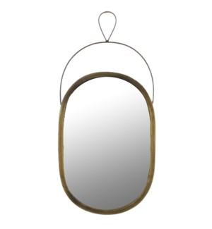 """Nanne Mirror 19x9"""" Gold"""
