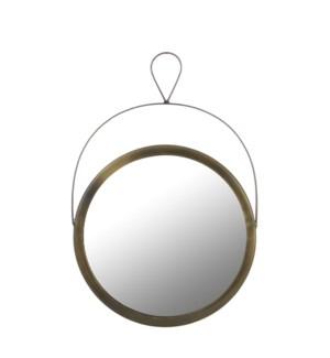 """Nanne Mirror 15.25x9.75"""" Gold"""