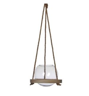"""Hanging Vase 7x6.25"""""""