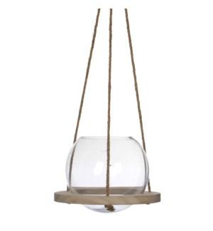 """Hanging Vase 9.75x9"""""""