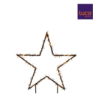"Outdoor Star Garden Stake 24x29"" 150L Warm White"
