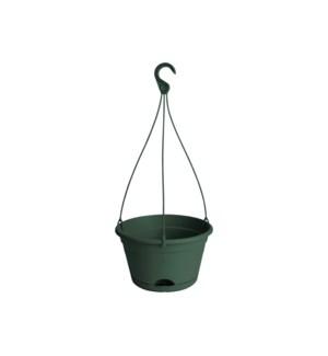 green basics hanging basket 28cm leaf green