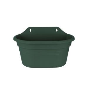 green basics wall basket 30cm leaf green