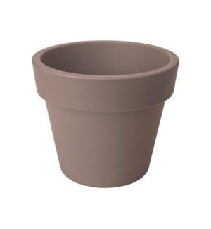 green basics top planter 30cm taupe