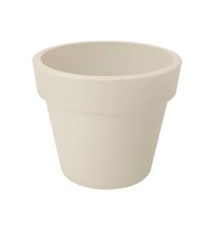 green basics top planter 30cm cotton white