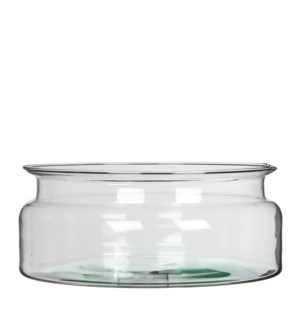 Mathew bowl glass transparent - 9.5x4""