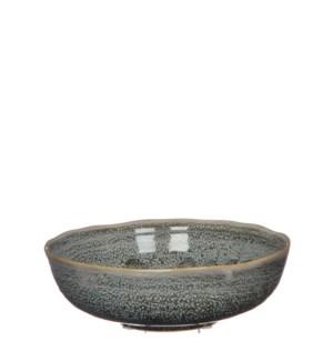 "June bowl round grey - 8.5x2.75"""