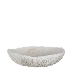 """Arba bowl round white - 9.25x8.75x2.25"""""""