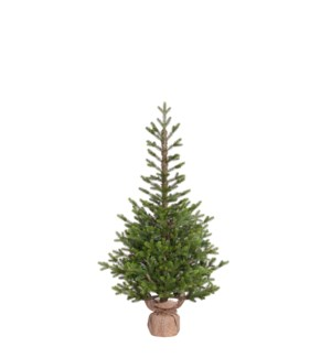 """Pierson xmas potted tree green outdoor use TIPS 1169 - 32""""x5'"""