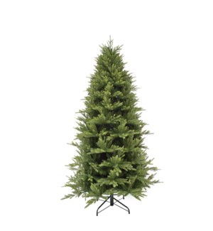 "Harrison xmas tree slim green hinged TIPS 3914 - 49""x7.5'"