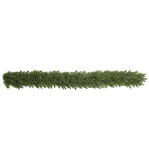 "Forest Frosted garland green TIPS 140 - 13""x6'"