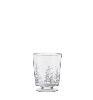 """Gigi hurricane light glass - 7.5x9.75"""""""