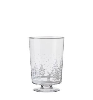 """Gigi hurricane light glass - 9.25x13.75"""""""