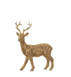 """Deer gold - 7.5x3.25x9"""""""