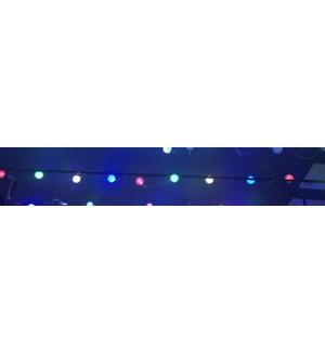 Indoor Acrylic Ball String B/O 3.25' 10L Multicolour