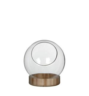 "Manhattan bowl on dish transparent - 7.5x8"""