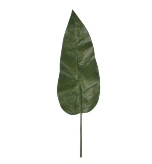 Philodendron leaf green - 38.25""