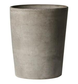 "Copenhagen Vase 11x13""H Tuscan Clay Grey"